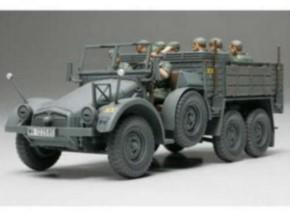 WWII dt. LKW Krupp Protze mir Figur (8 Figuren)