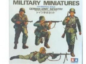 Fig.-Set dt. Infanterie 4 Figuren
