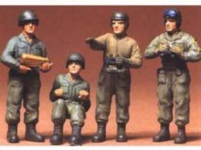 Fig.-Set US Panzerbesatzung 4 Figuren