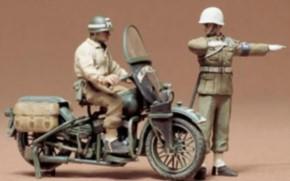 WWII US Militär Polizei Motorrad (2)