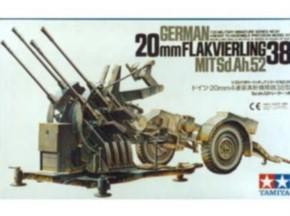 Flakvierling 38 SDAH 52  2 cm