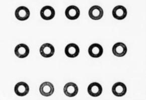 3 mm Unterlegscheibe, 15 Stück