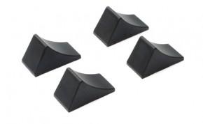 Hemmschuh, schwarz 4 Stück