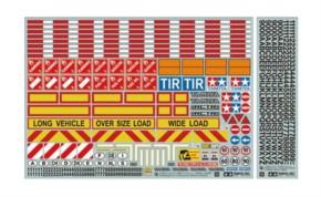 Warndekor für LKWs/Auflieger
