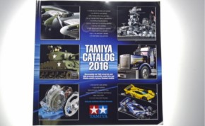 Tamiya Plastik-Katalog 2016, Einzelstück
