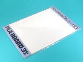 Kst-Platte 3,0mm (1) weiß 257x364mm