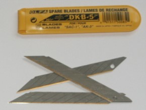 10 Ersatzklingen zu 30-74053, Original-Olfa-Klingen