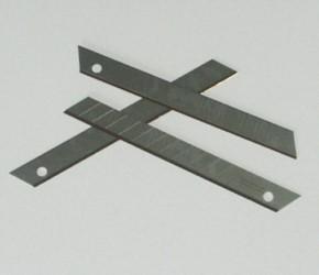 10 Ersatzklingen für Cuttermesser, titan