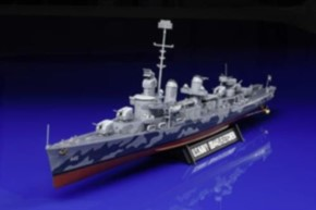US Zerstörer DD445 Fletcher