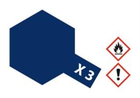 Acryl-Farbe X3 königsblau, glänzend 23 ml
