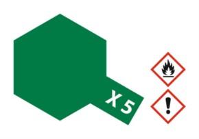 Acryl-Farbe X5 grün, glänzend 23 ml