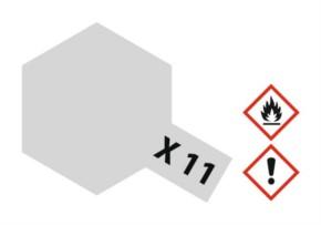 Acryl-Farbe X11 chrom-silber, metallic 23 ml