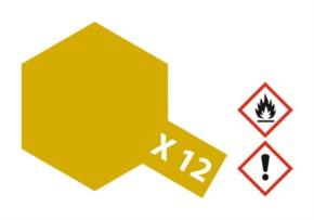 Acryl-Farbe X12 gold-leaf, metallic 23 ml