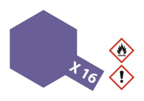 Acryl-Farbe X16 purpur, glänzend 23 ml