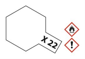 Acryl-Farbe X22 Klarlack, glänzend 23 ml