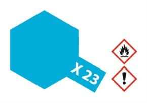 Acryl-Farbe X23 klar-blau 23 ml