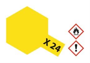 Acryl-Farbe X24 klar-gelb 23 ml