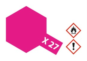 Acryl-Farbe X27 klar-rot 23 ml