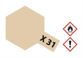 Acryl-Farbe X31 titanium-gold, metallic 23 ml