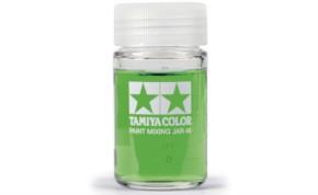 Farbmischglas rund 46 ml mit Skala