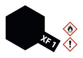 Acryl-Farbe XF1 schwarz, matt 23 ml