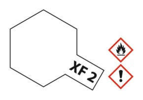 Acryl-Farbe XF2 weiß, matt 23 ml