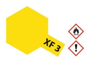 Acryl-Farbe XF3 gelb, matt 23 ml