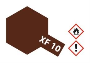 Acryl-Farbe XF10 braun, matt 23 ml