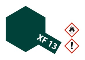 Acryl-Farbe XF13 jap.-army-grün, matt 23 ml