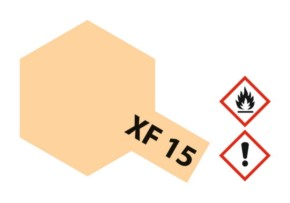 Acryl-Farbe XF15 fleischfarben, matt 23 ml