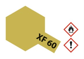 Acryl-Farbe XF60 dunkel-gelb, matt 23 ml