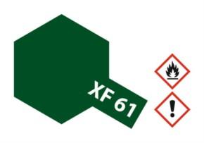 Acryl-Farbe XF61 dunkel-grün, matt 23 ml