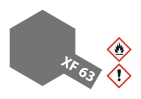 Acryl-Farbe XF63 german-grau, matt 23 ml