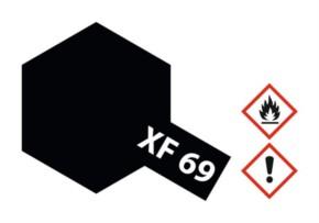 Acryl-Farbe XF69 NATO-schwarz, matt 23 ml