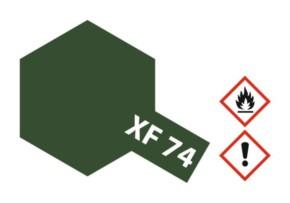 Acryl-Farbe XF74 oliv drab JGSDF, matt 10 ml