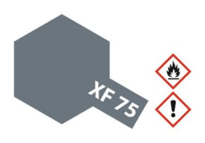 Acryl-Farbe XF75 IJN grau (Kure), matt 10 ml