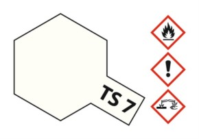 Acryl-Spray-Farbe TS 7 Racing-weiß 100 ml