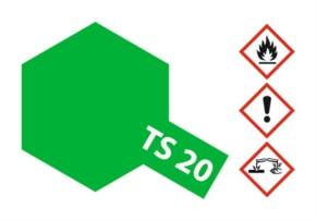 Acryl-Spray-Farbe TS 20 Metallic-Grün 100 ml