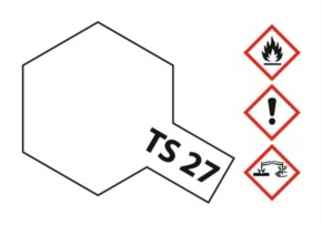 Acryl-Spray-Farbe TS 27 Matt-weiß 100 ml