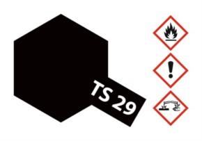 Acryl-Spray-Farbe TS 29 Schwarz-seidenmatt 100 ml