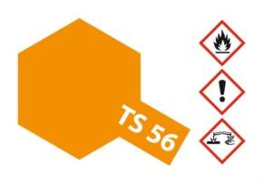 Acryl-Spray-Farbe TS 56 Brilliant orange 100 ml