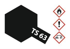 Acryl-Spray-Farbe TS 63 Nato-schwarz 100 ml