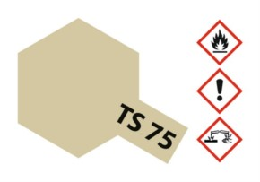 Acryl-Spray-Farbe TS 75 Champagner Gold 100 ml