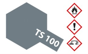 Acryl-Spray-Farbe TS 100 gnmetal hell seidenmatt metallic 100 ml