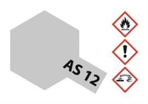 Acryl-Spray AS-12 metallsilber blank matt 100 ml