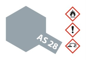 Acryl-Spray AS-28 mittelgrau matt 100 ml
