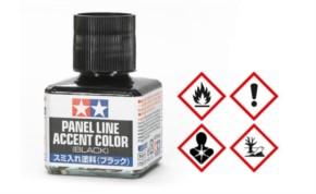 Panel Accent Color, schwarz, 40 ml