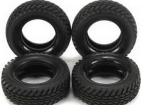 Trial-Reifen für Tourenwagenfelgen Tamiya, 4 St.