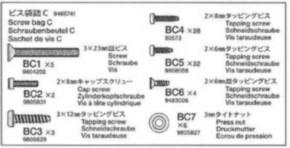 Schraubenbeutel C zu 56319