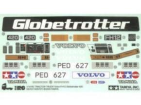Aufkleber Volvo FH-12 Globetrotter 420